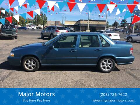 1998 Volvo S70 for sale at Major Motors in Twin Falls ID