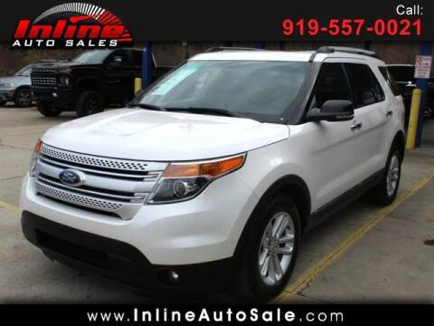 2012 Ford Explorer for sale at Inline Auto Sales in Fuquay Varina NC