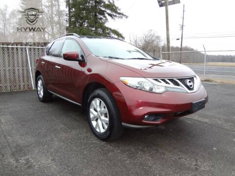 2011 Nissan Murano for sale at Hyway Auto Sales in Lumberton NJ
