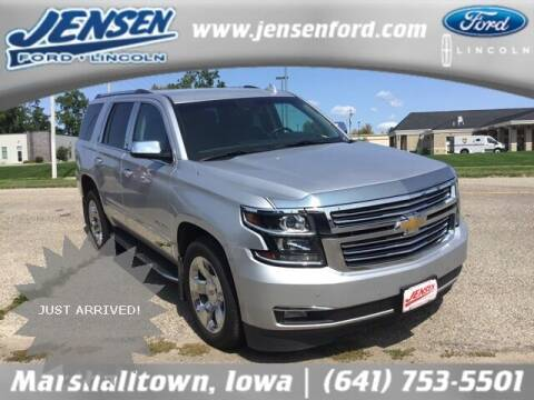 2018 Chevrolet Tahoe for sale at JENSEN FORD LINCOLN MERCURY in Marshalltown IA