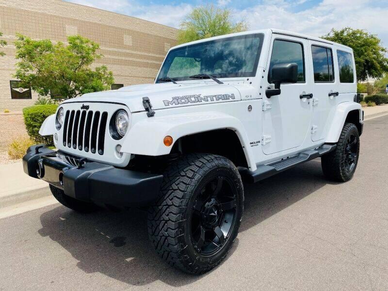 2017 Jeep Wrangler Unlimited for sale in Scottsdale, AZ