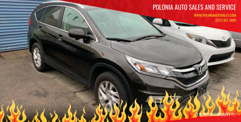 2016 Honda CR-V for sale at Polonia Auto Sales and Service in Hyde Park MA