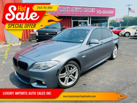 2012 BMW 5 Series for sale at LUXURY IMPORTS AUTO SALES INC in North Branch MN