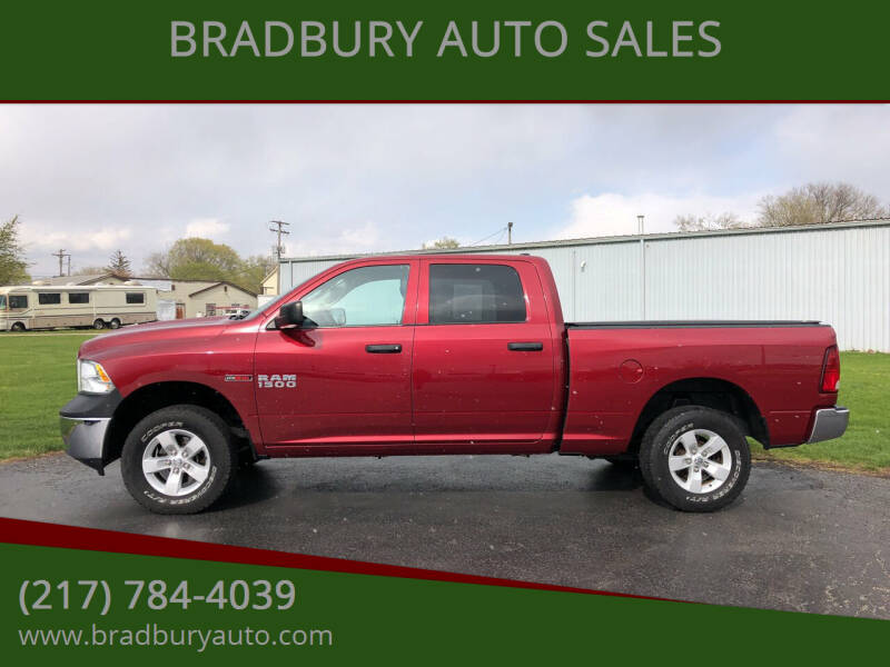 2014 RAM Ram Pickup 1500 for sale at BRADBURY AUTO SALES in Gibson City IL