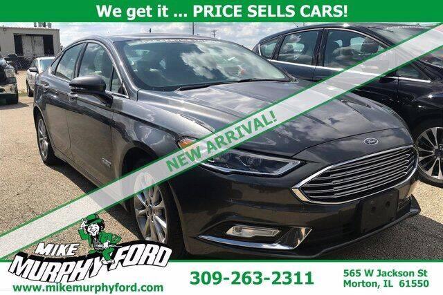 2017 Ford Fusion Energi for sale in Morton, IL
