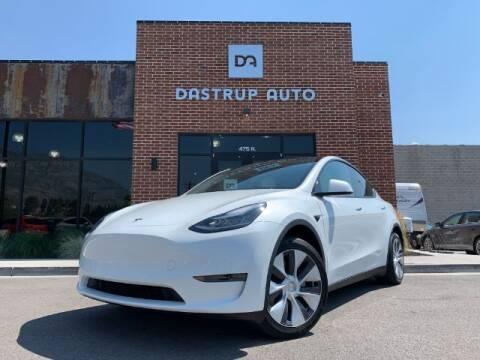 2020 Tesla Model Y for sale at Dastrup Auto in Lindon UT