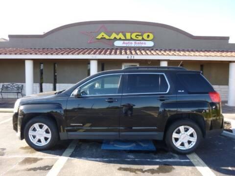 2014 GMC Terrain for sale at AMIGO AUTO SALES in Kingsville TX