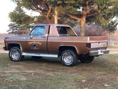1979 Chevrolet Silverado 1500 SS Classic for sale at Classic Car Deals in Cadillac MI