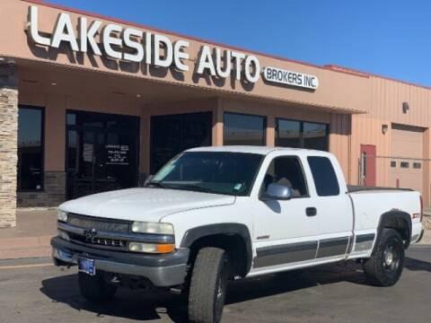 2002 Chevrolet Silverado 1500 for sale at Lakeside Auto Brokers in Colorado Springs CO