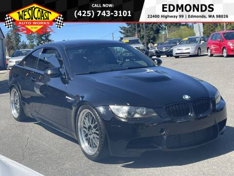 2011 BMW M3 for sale at West Coast Auto Works in Edmonds WA