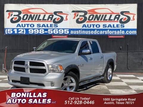 2014 RAM Ram Pickup 1500 for sale at Bonillas Auto Sales in Austin TX