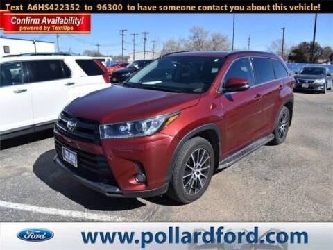 2017 Toyota Highlander for sale at South Plains Autoplex by RANDY BUCHANAN in Lubbock TX