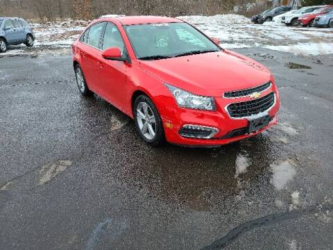 2015 Chevrolet Cruze for sale at BETTER BUYS AUTO INC in East Windsor CT