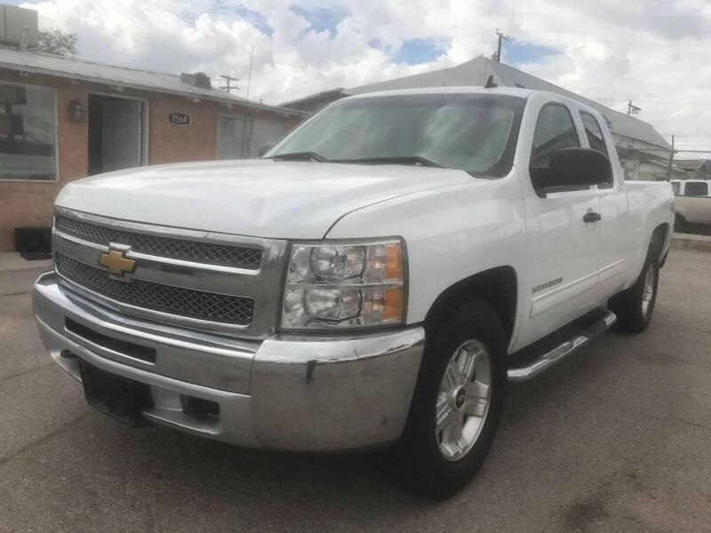 2012 Chevrolet Silverado 1500 for sale at Moving Rides in El Paso TX