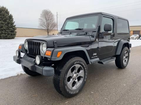 2006 Jeep Wrangler for sale at Geneva Motorcars LLC in Delavan WI