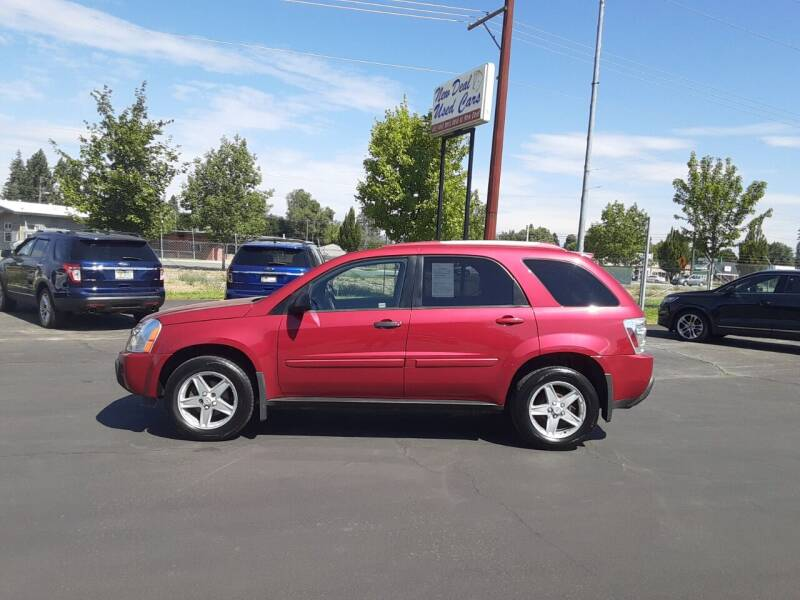 2005 Chevrolet Equinox for sale at New Deal Used Cars in Spokane Valley WA