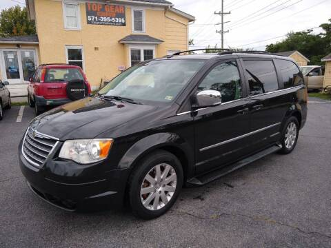 2010 Chrysler Town and Country for sale at Top Gear Motors in Winchester VA