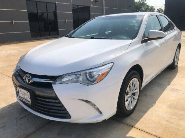 2016 Toyota Camry for sale at Eurospeed International in San Antonio TX