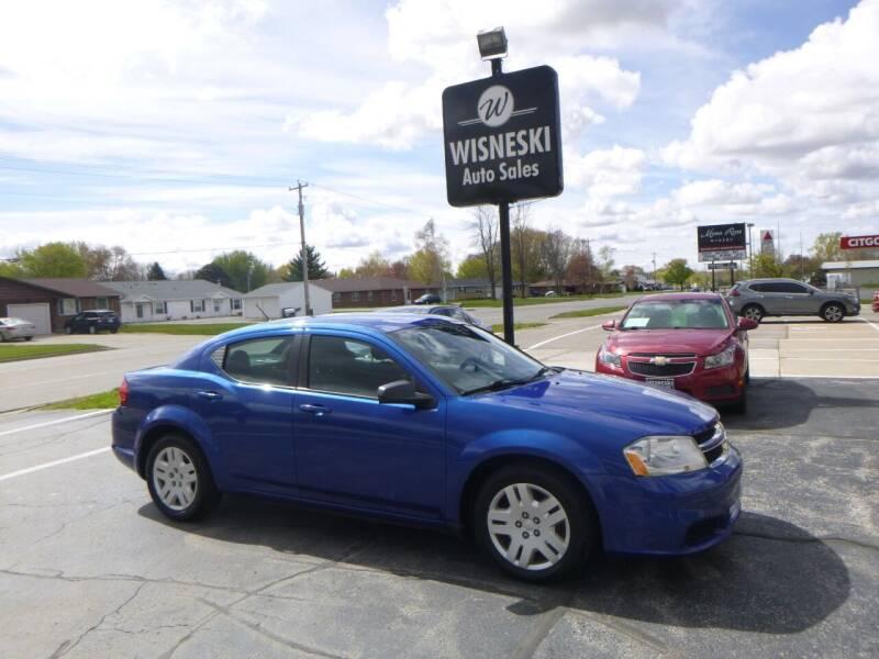 2013 Dodge Avenger for sale at Wisneski Auto Sales, Inc. in Green Bay WI