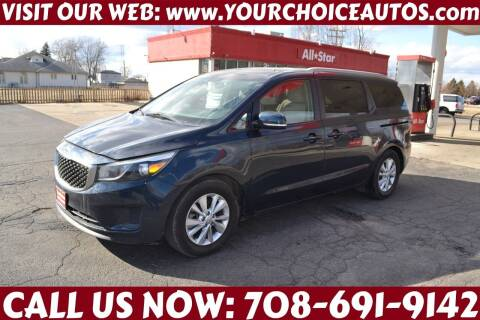 2015 Kia Sedona for sale at Your Choice Autos - Crestwood in Crestwood IL