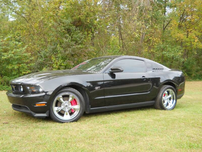 2010 Ford Mustang for sale at BARKER AUTO EXCHANGE in Spencer IN