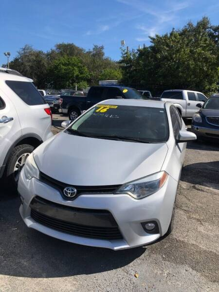 2016 Toyota Corolla for sale at H.A. Twins Corp in Miami FL