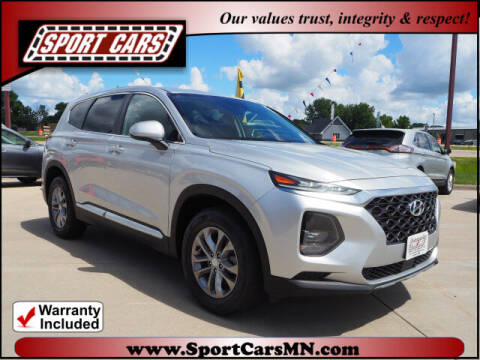 2019 Hyundai Santa Fe for sale at SPORT CARS in Norwood MN