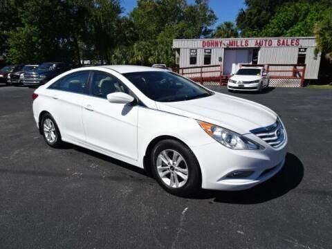 2013 Hyundai Sonata for sale at DONNY MILLS AUTO SALES in Largo FL