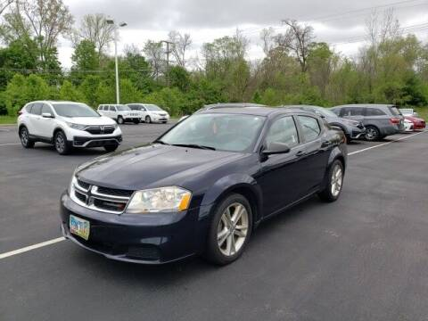 2012 Dodge Avenger for sale at White's Honda Toyota of Lima in Lima OH