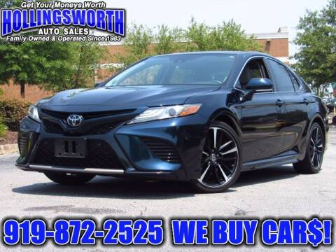 2019 Toyota Camry for sale at Hollingsworth Auto Sales in Raleigh NC