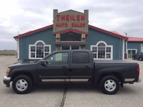 2008 Chevrolet Colorado for sale at THEILEN AUTO SALES in Clear Lake IA
