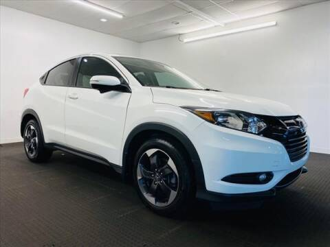 2018 Honda HR-V for sale at Champagne Motor Car Company in Willimantic CT