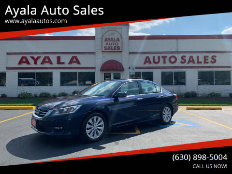 2014 Honda Accord for sale at Ayala Auto Sales in Aurora IL