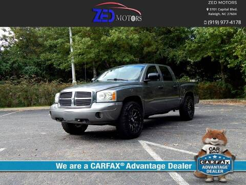 2007 Dodge Dakota for sale at Zed Motors in Raleigh NC