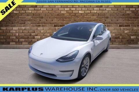 2018 Tesla Model 3 for sale at Karplus Warehouse in Pacoima CA