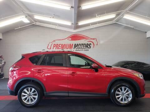 2015 Mazda CX-5 for sale at Premium Motors in Villa Park IL