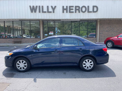 2012 Toyota Corolla for sale at Willy Herold Automotive in Columbus GA
