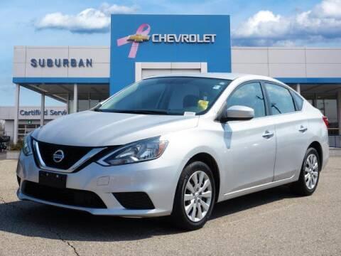 2018 Nissan Sentra for sale at Suburban Chevrolet of Ann Arbor in Ann Arbor MI