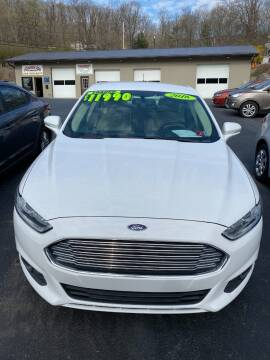 2016 Ford Fusion for sale at Route 28 Auto Sales in Ridgeley WV