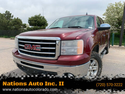 2013 GMC Sierra 1500 for sale at Nations Auto Inc. II in Denver CO