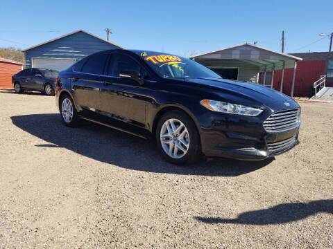 2016 Ford Fusion for sale at QUALITY MOTOR COMPANY in Portales NM