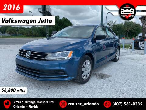 2016 Volkswagen Jetta for sale at Real Car Sales in Orlando FL