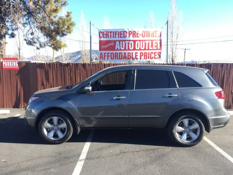 2012 Acura MDX for sale at Flagstaff Auto Outlet in Flagstaff AZ