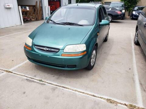 2004 Chevrolet Aveo for sale at DFW AUTO FINANCING LLC in Dallas TX