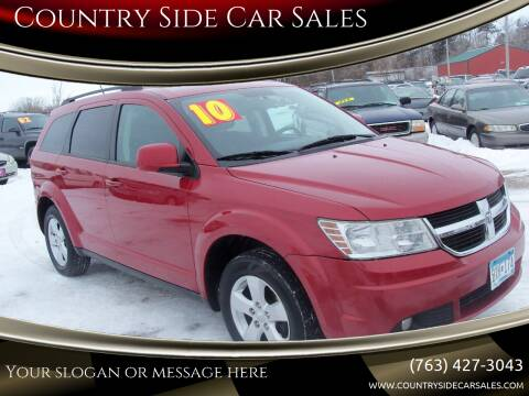 2010 Dodge Journey for sale at Country Side Car Sales in Elk River MN