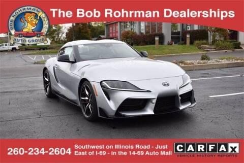 2021 Toyota GR Supra for sale at BOB ROHRMAN FORT WAYNE TOYOTA in Fort Wayne IN