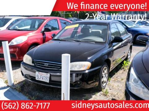 2004 Kia Spectra for sale at Sidney Auto Sales in Downey CA