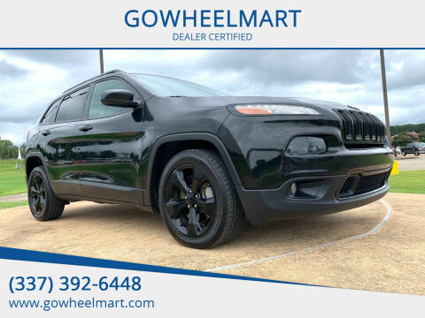 2016 Jeep Cherokee for sale at GOWHEELMART in Leesville LA