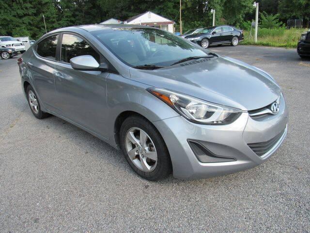 2015 Hyundai Elantra for sale at Atlantic Auto Sales in Chesapeake VA