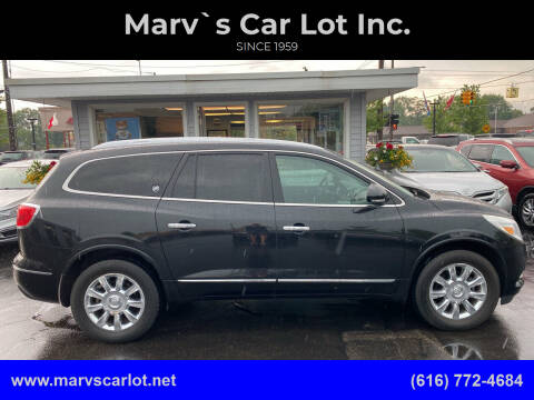 2013 Buick Enclave for sale at Marv`s Car Lot Inc. in Zeeland MI